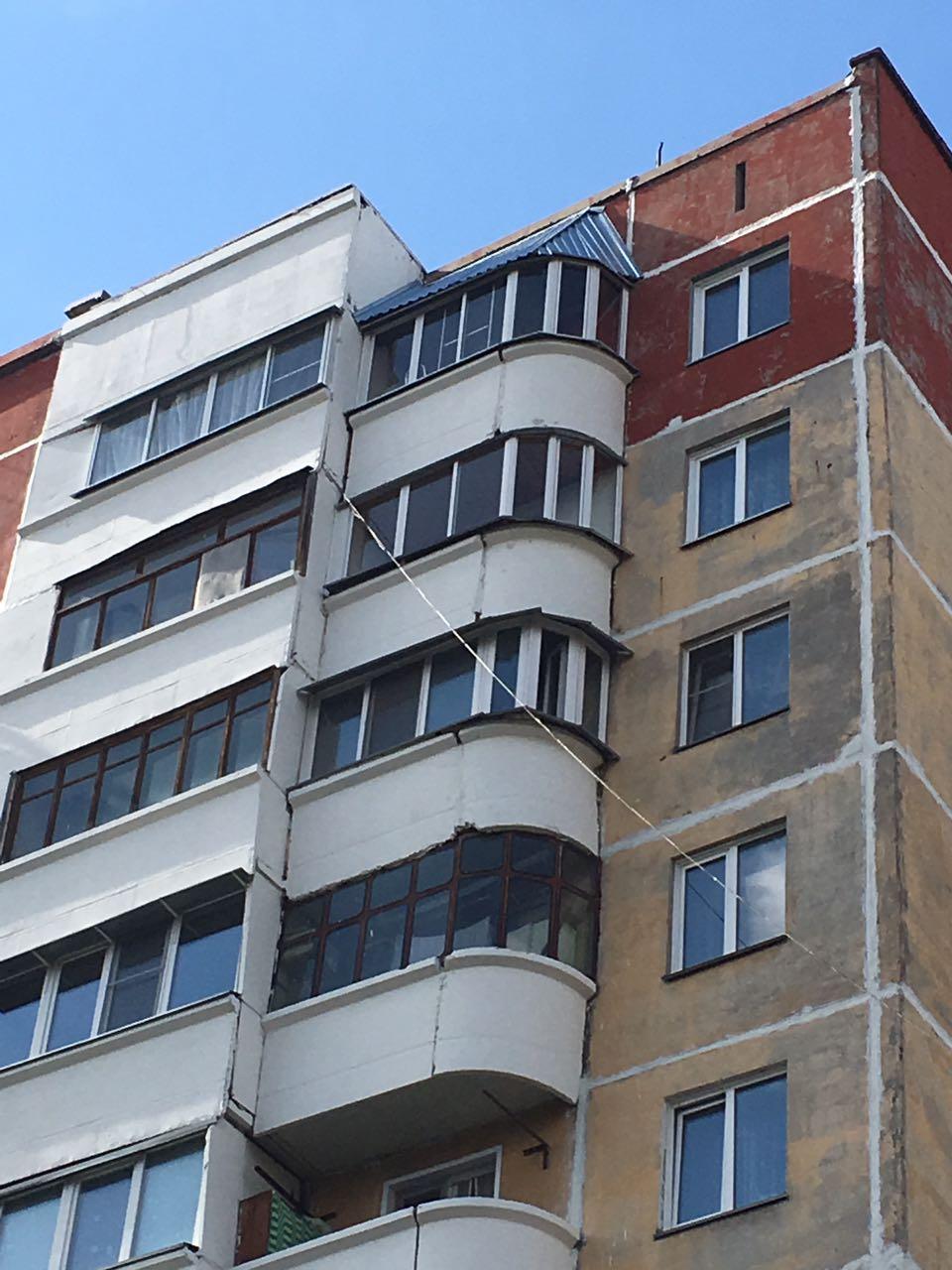 Ремонт окраска фасадов зданий